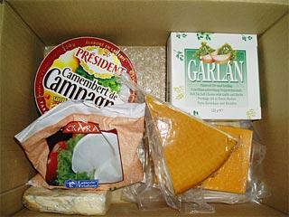 チーズの福袋