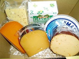 チーズのお取り寄せ