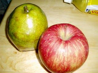 洋梨、りんご