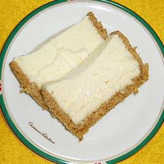 ツェラーのチーズケーキ
