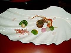 夕食の前菜