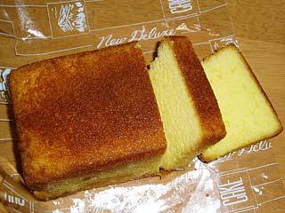 「樫の木」のブランデーケーキ