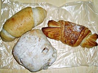 ブーランジェリー・クロワッサンのパン
