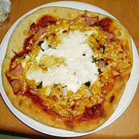 自家製酵母ピザ