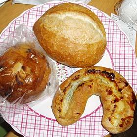 ムッシュソレイユのパン