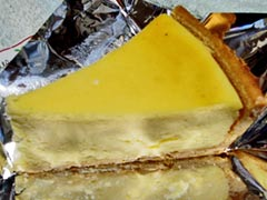 レモンドロップのケーキ