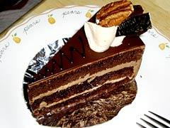 トリアノン洋菓子店のケーキ