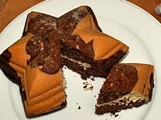 カイザーの型で焼いた菓子