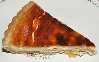 山羊乳のチーズでチーズケーキ
