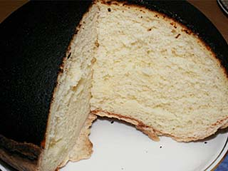 山羊乳のチーズケーキ