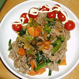 ラム肉料理