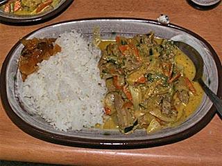 ラム肉のカレー煮