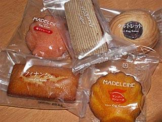 コージーコーナーの焼き菓子