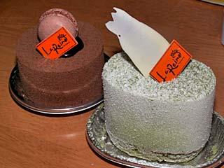 ラ・レーヌのケーキ