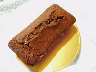チョコレート入りブランデーケーキ