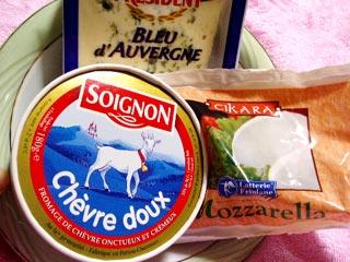 輸入チーズ