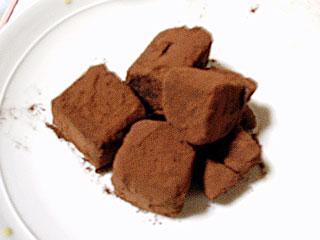 手作り生チョコ