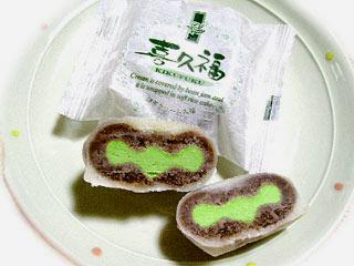 抹茶クリーム大福