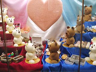 クマさん型の菓子