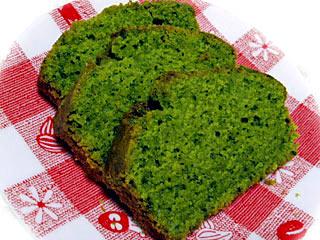 米粉の抹茶パウンドケーキ