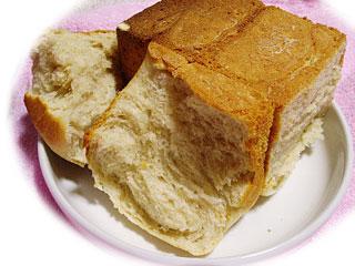 牛乳を使った食パン