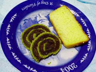 瑞風とブランデーケーキ