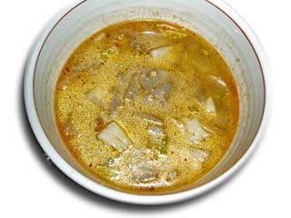 根野菜のピリ辛みそスープ